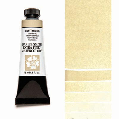 Daniel Smith Extra Fine Watercolors - 15ml / 5 fl. oz. - Buff Titanium by Daniel Smith - K. A. Artist Shop