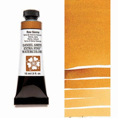 Daniel Smith Extra Fine Watercolors - 15ml / 5 fl. oz. - Raw Sienna by Daniel Smith - K. A. Artist Shop