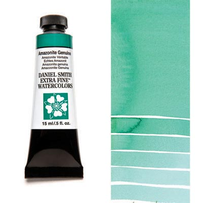 Daniel Smith Extra Fine Watercolors - 15ml / 5 fl. oz. - Amazonite Genuine by Daniel Smith - K. A. Artist Shop