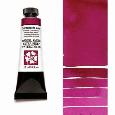 Daniel Smith Extra Fine Watercolors - 15ml / 5 fl. oz. - Quinacridone Violet by Daniel Smith - K. A. Artist Shop