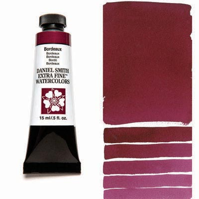 Daniel Smith Extra Fine Watercolors - 15ml / 5 fl. oz. - Bordeaux by Daniel Smith - K. A. Artist Shop