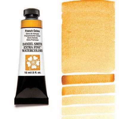 Daniel Smith Extra Fine Watercolors - 15ml / 5 fl. oz. - French Ochre by Daniel Smith - K. A. Artist Shop