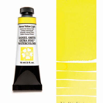 Daniel Smith Extra Fine Watercolors - 15ml / 5 fl. oz. - Hansa Yellow Light by Daniel Smith - K. A. Artist Shop
