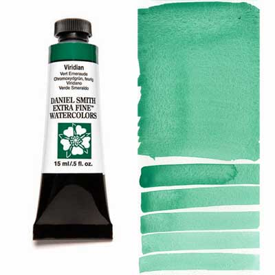 Daniel Smith Extra Fine Watercolors - 15ml / 5 fl. oz. - Viridian by Daniel Smith - K. A. Artist Shop