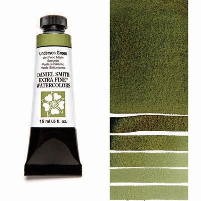 Daniel Smith Extra Fine Watercolors - 15ml / 5 fl. oz. - Undersea Green by Daniel Smith - K. A. Artist Shop
