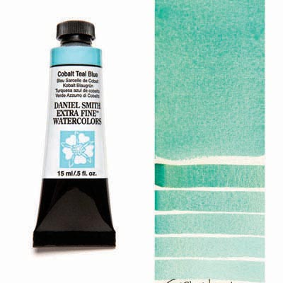 Daniel Smith Extra Fine Watercolors - 15ml / 5 fl. oz. - Cobalt Teal Blue by Daniel Smith - K. A. Artist Shop