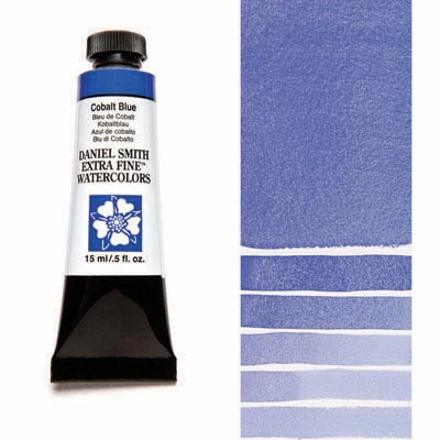 Daniel Smith Extra Fine Watercolors - 15ml / 5 fl. oz. - Cobalt Blue by Daniel Smith - K. A. Artist Shop