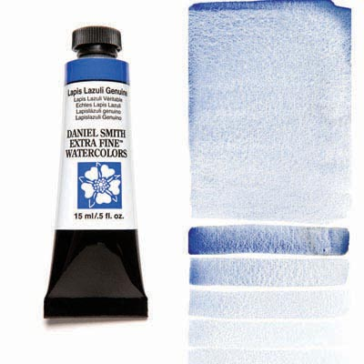 Daniel Smith Extra Fine Watercolors - 15ml / 5 fl. oz. - Lapis Lazuli Genuine by Daniel Smith - K. A. Artist Shop