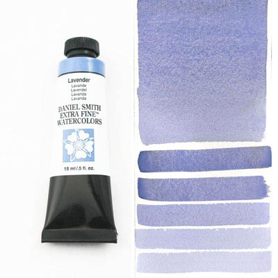Daniel Smith Extra Fine Watercolors - 15ml / 5 fl. oz. - Lavender by Daniel Smith - K. A. Artist Shop