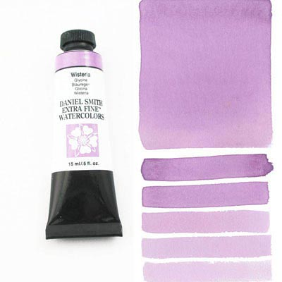 Daniel Smith Extra Fine Watercolors - 15ml / 5 fl. oz. - Wisteria by Daniel Smith - K. A. Artist Shop