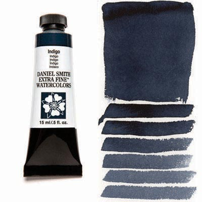 Daniel Smith Extra Fine Watercolors - 15ml / 5 fl. oz. - Indigo by Daniel Smith - K. A. Artist Shop