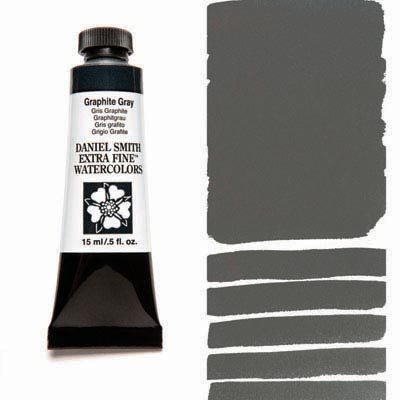 Daniel Smith Extra Fine Watercolors - 15ml / 5 fl. oz. - Graphite Gray by Daniel Smith - K. A. Artist Shop