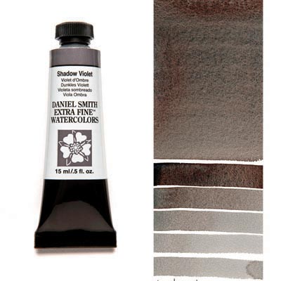 Daniel Smith Extra Fine Watercolors - 15ml / 5 fl. oz. - Shadow Violet by Daniel Smith - K. A. Artist Shop