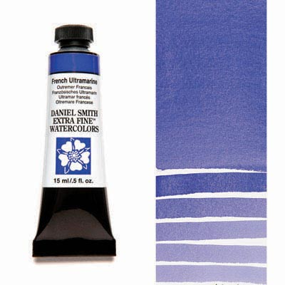 Daniel Smith Extra Fine Watercolors - 15ml / 5 fl. oz. - French Ultramarine by Daniel Smith - K. A. Artist Shop