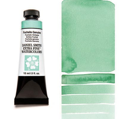 Daniel Smith Extra Fine Watercolors - 15ml / 5 fl. oz. - Fuchsite Genuine by Daniel Smith - K. A. Artist Shop