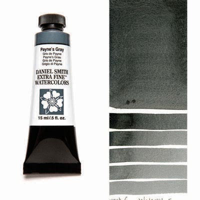 Daniel Smith Extra Fine Watercolors - 15ml / 5 fl. oz. - Payne's Gray by Daniel Smith - K. A. Artist Shop