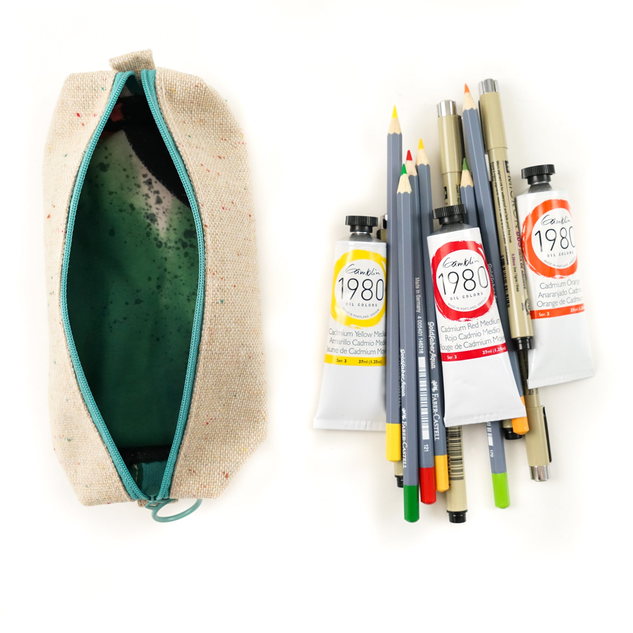 Darling Clementine R.P.S. Pencil Case - by Darling Clementine - K. A. Artist Shop