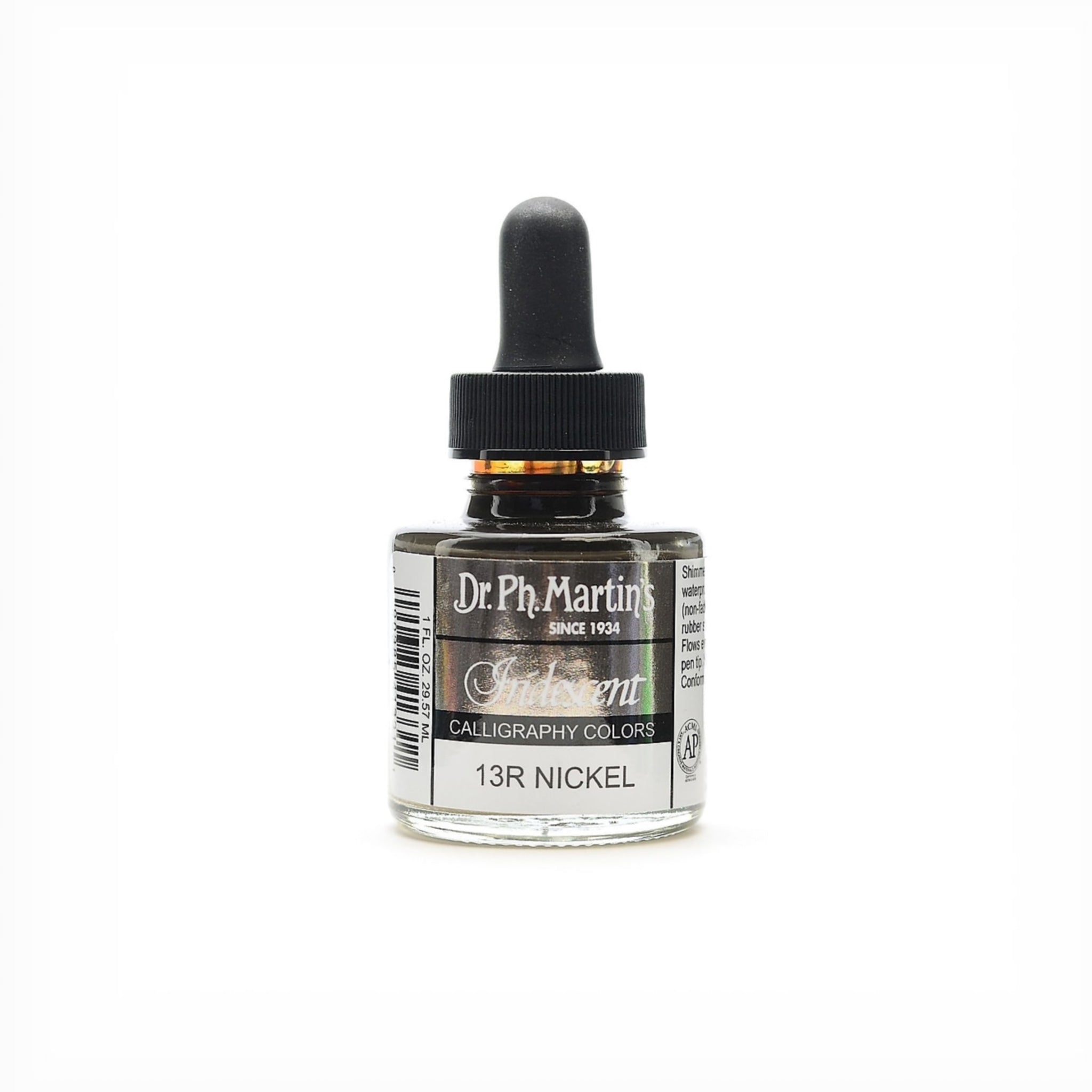 Dr. Ph. Martin's Iridescent Calligraphy Colors - Nickel by Dr. Ph. Martin's - K. A. Artist Shop