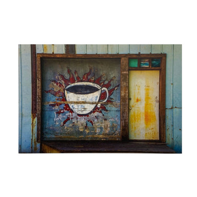 Athens, GA Postcards by Frances Berry - Old Jittery Joe's Roaster Coffee Cup - by Frances Berry - K. A. Artist Shop