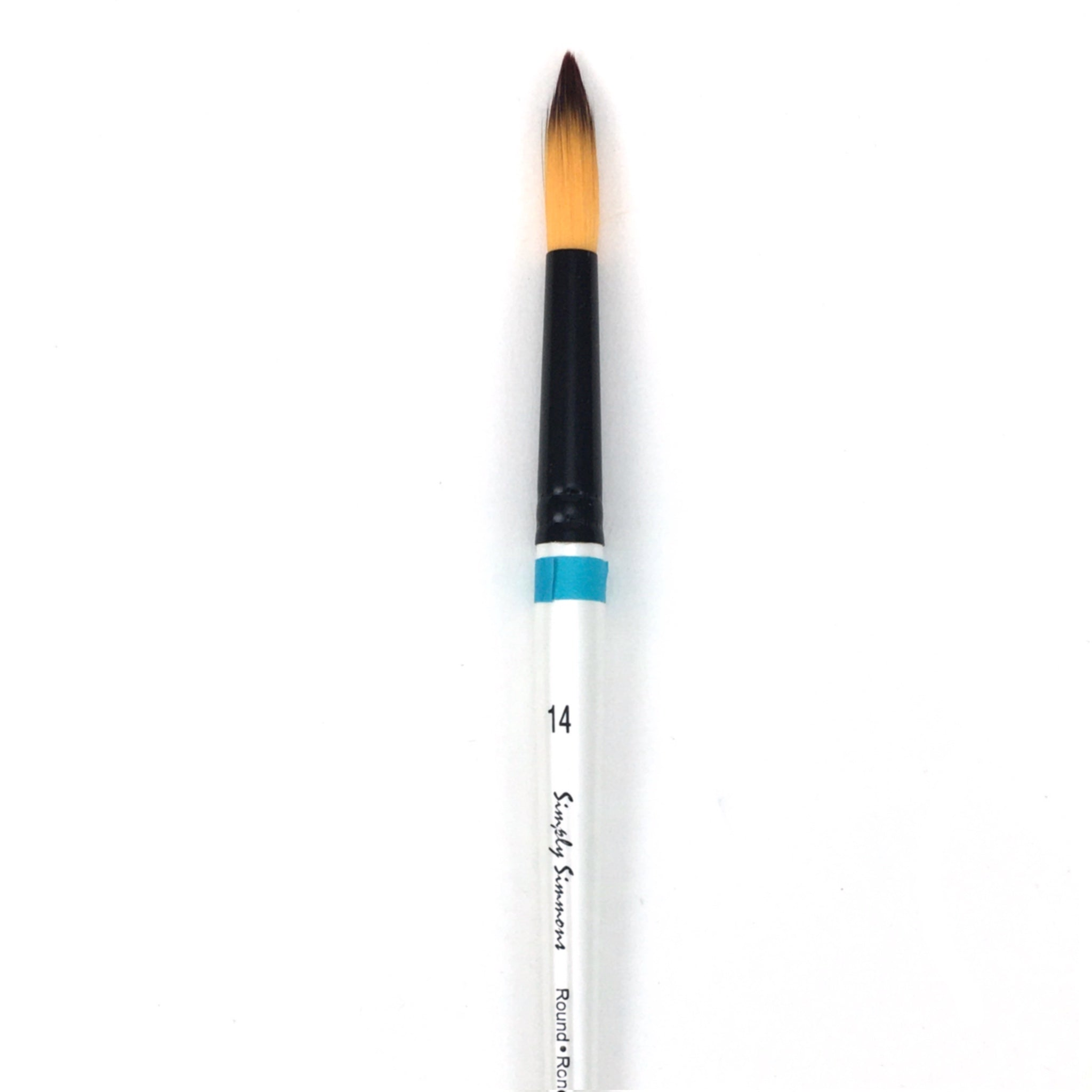Robert Simmons Simply Simmons Watercolor Brush (Short Handle) - Round / - #14 / - synthetic by Robert Simmons - K. A. Artist Shop