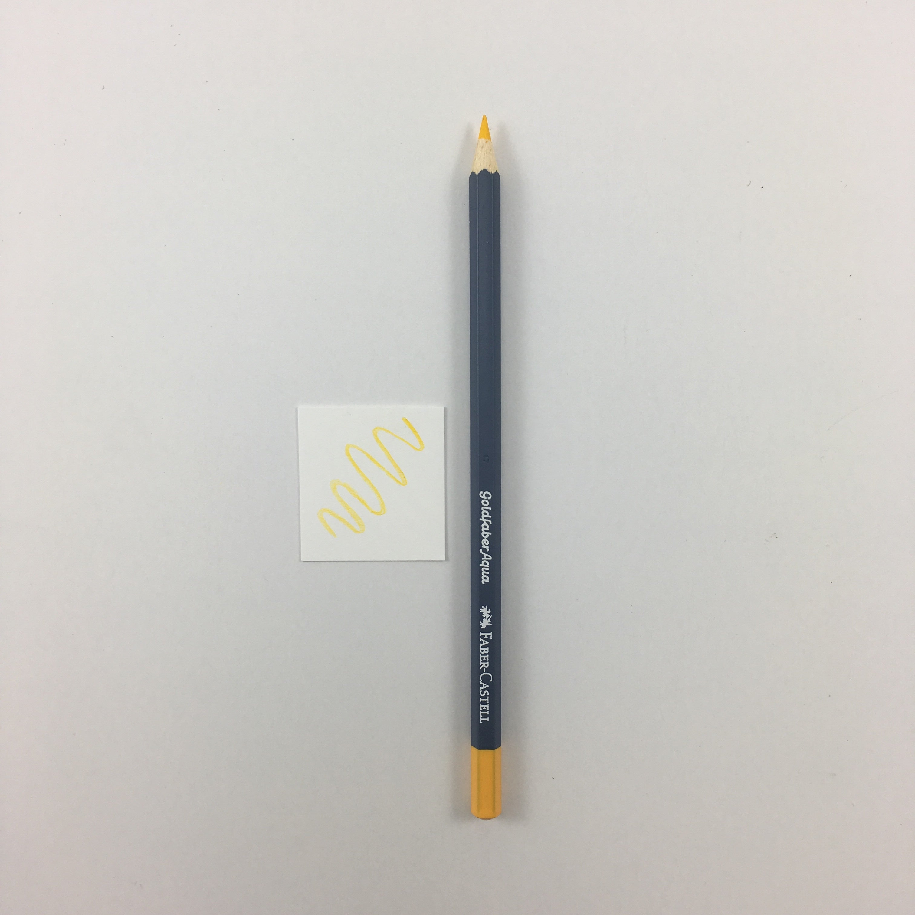 Faber-Castell Goldfaber Aqua Watercolor Pencils - Individuals - 109 - Dark Chrome Yellow by Faber-Castell - K. A. Artist Shop