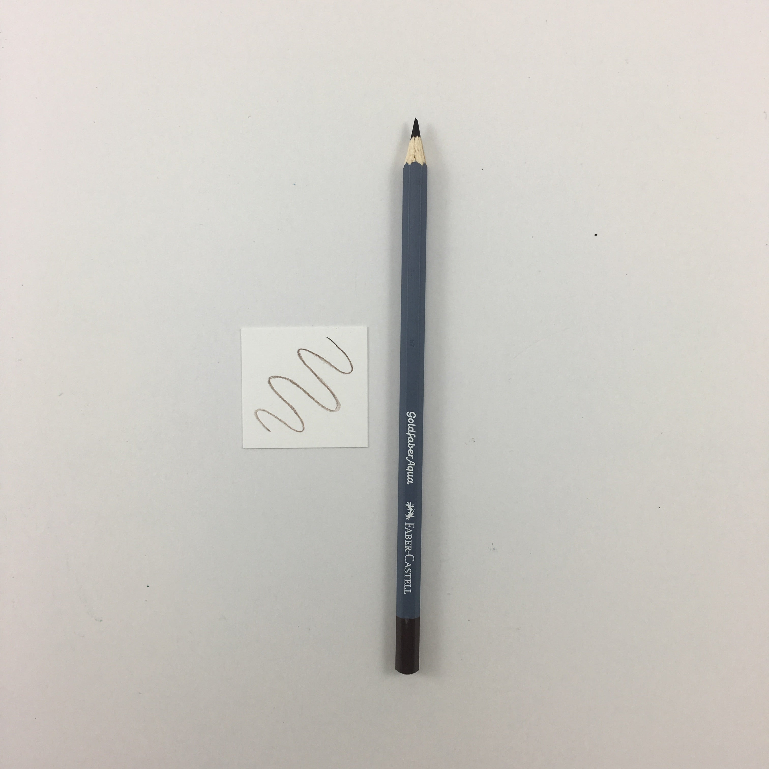 Faber-Castell Goldfaber Aqua Watercolor Pencils - Individuals - 176 - Van Dyck Brown by Faber-Castell - K. A. Artist Shop