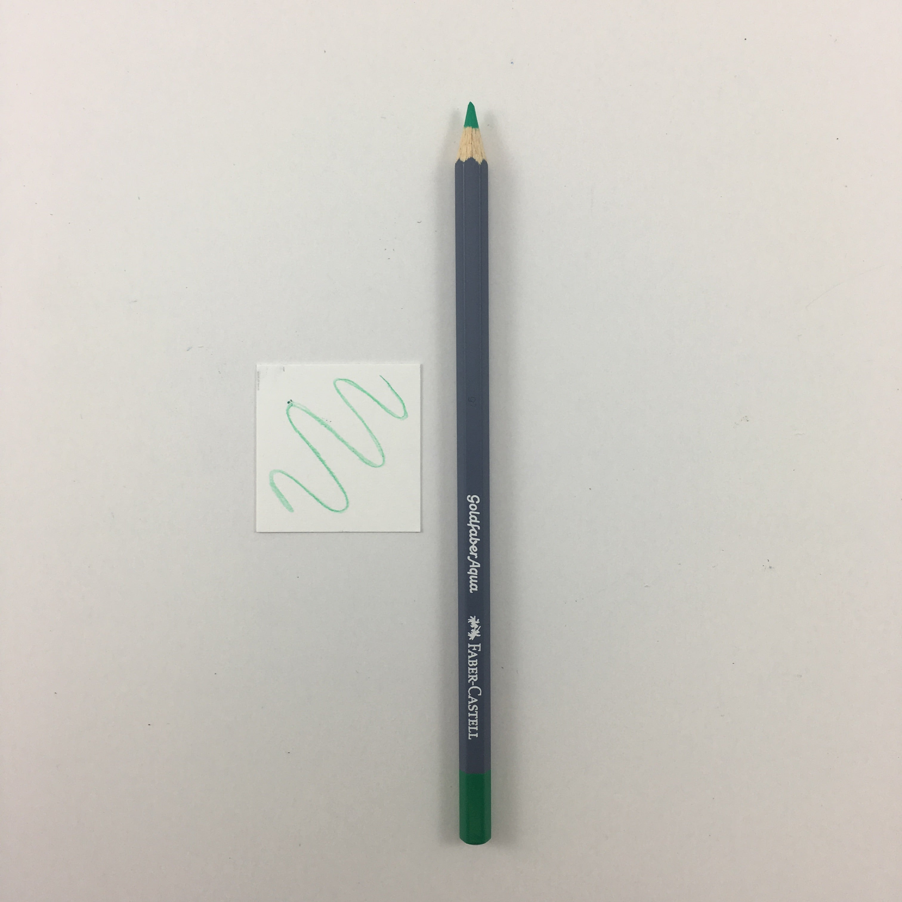 Faber-Castell Goldfaber Aqua Watercolor Pencils - Individuals - 162 - Light Pthalo Green by Faber-Castell - K. A. Artist Shop