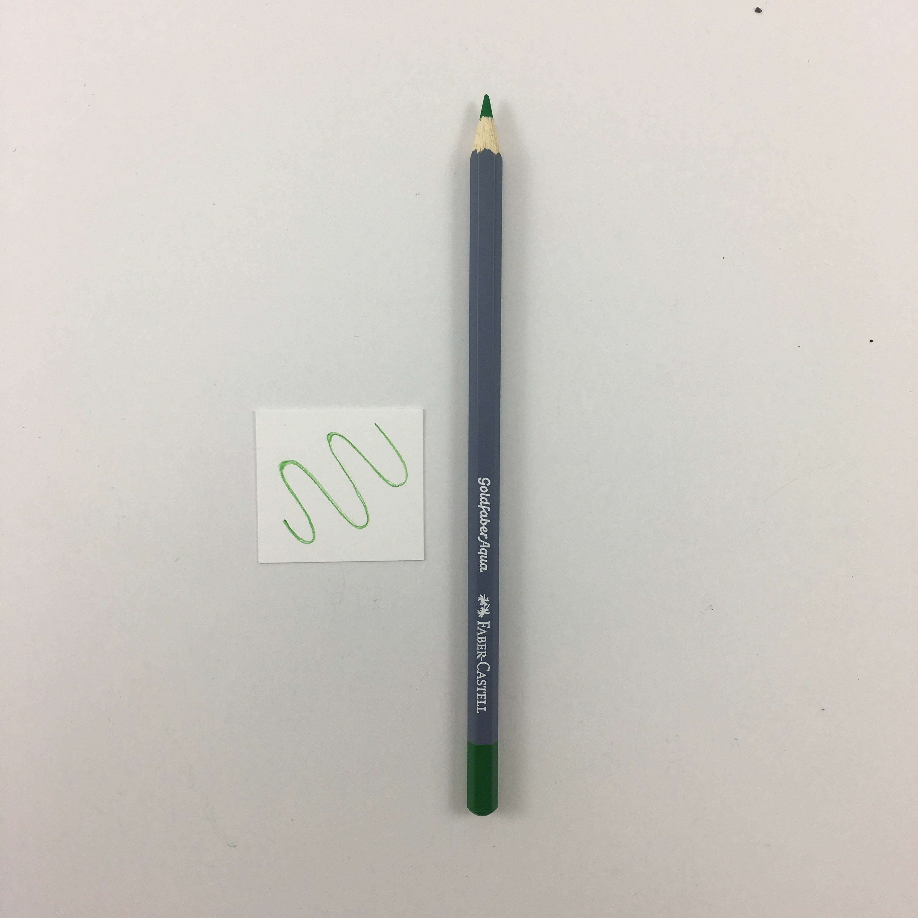 Faber-Castell Goldfaber Aqua Watercolor Pencils - Individuals - 266 - Permanent Green by Faber-Castell - K. A. Artist Shop