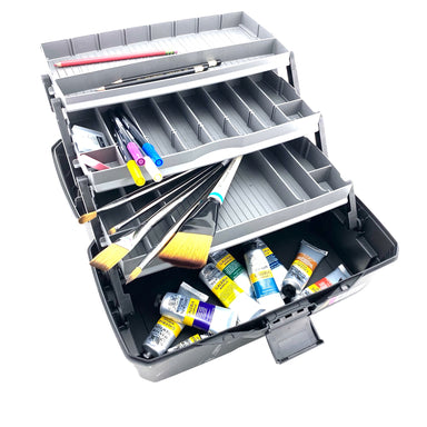 ArtBin 3-Tray Sketch Box with Top Compartment - by ArtBin - K. A. Artist Shop