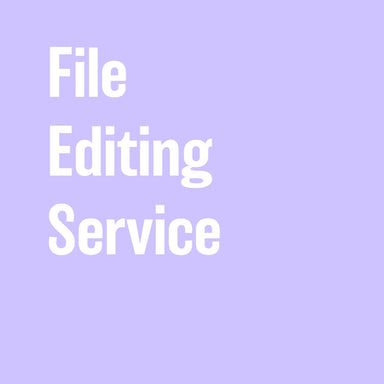File Editing Service - By the Hour - by K. A. Artist Shop - K. A. Artist Shop