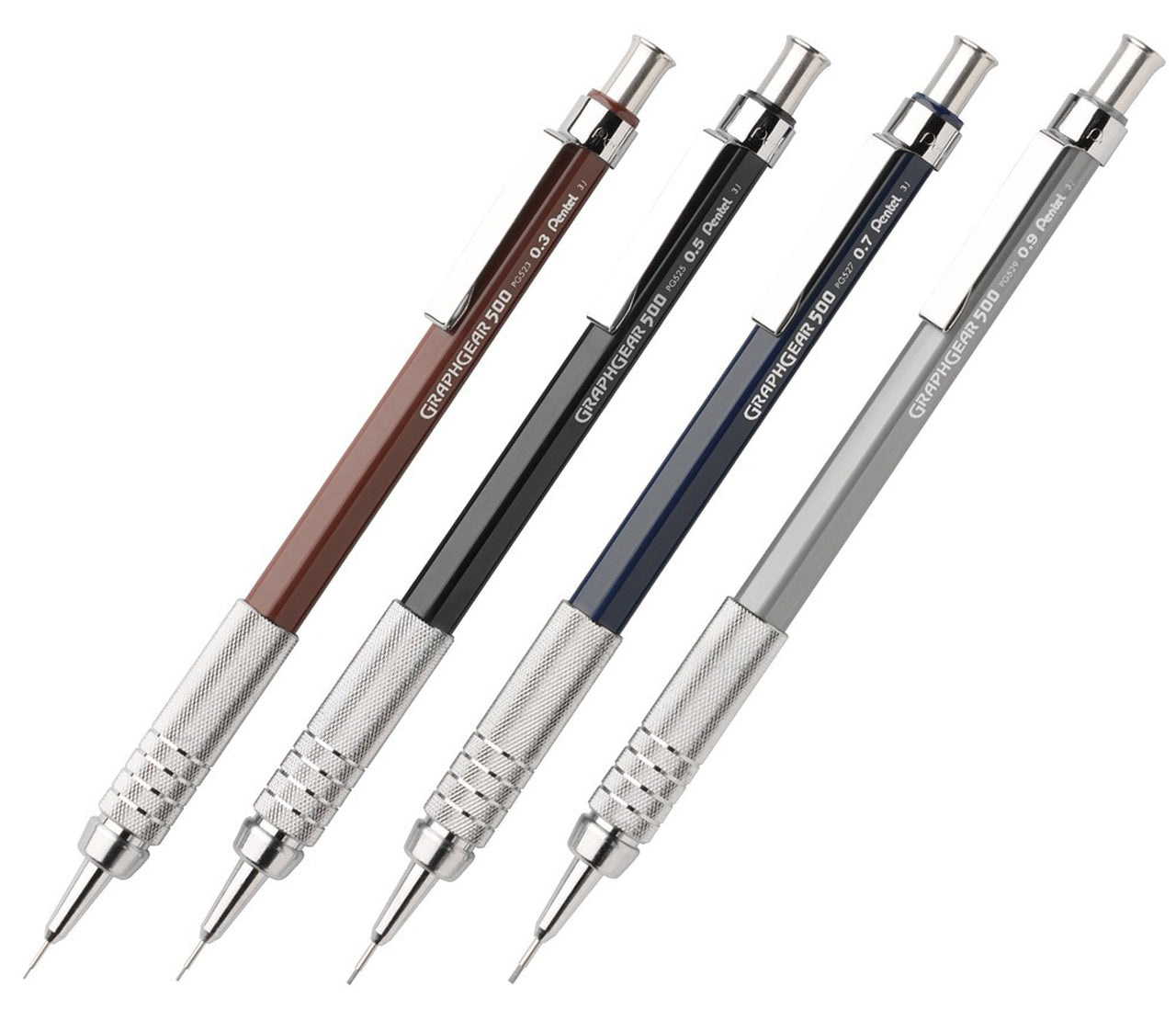 "Pentel ""Graph Gear"" (500 Series) Automatic Drafting Pencils - by Pentel - K. A. Artist Shop"