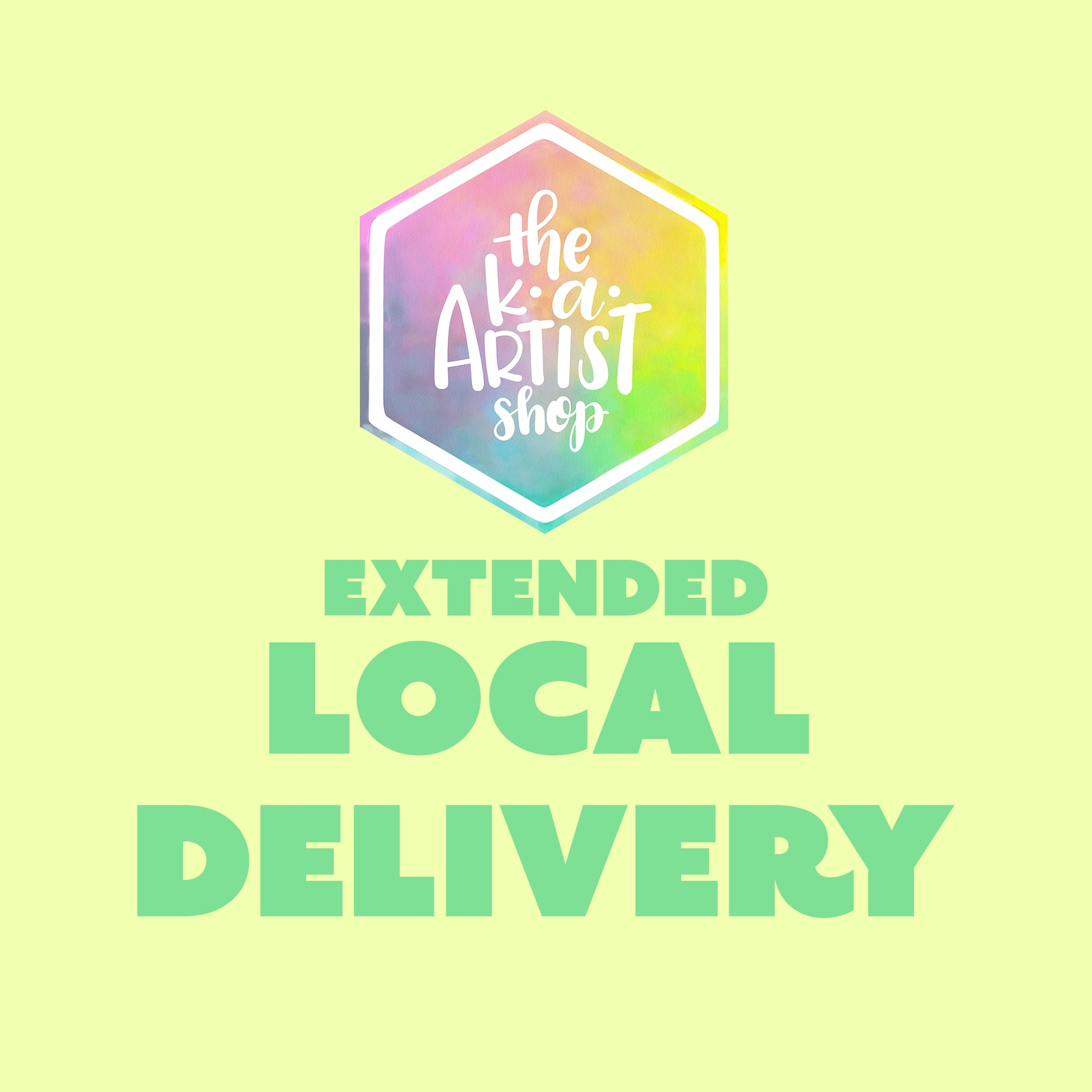 Extended Local Delivery (for orders $25+)