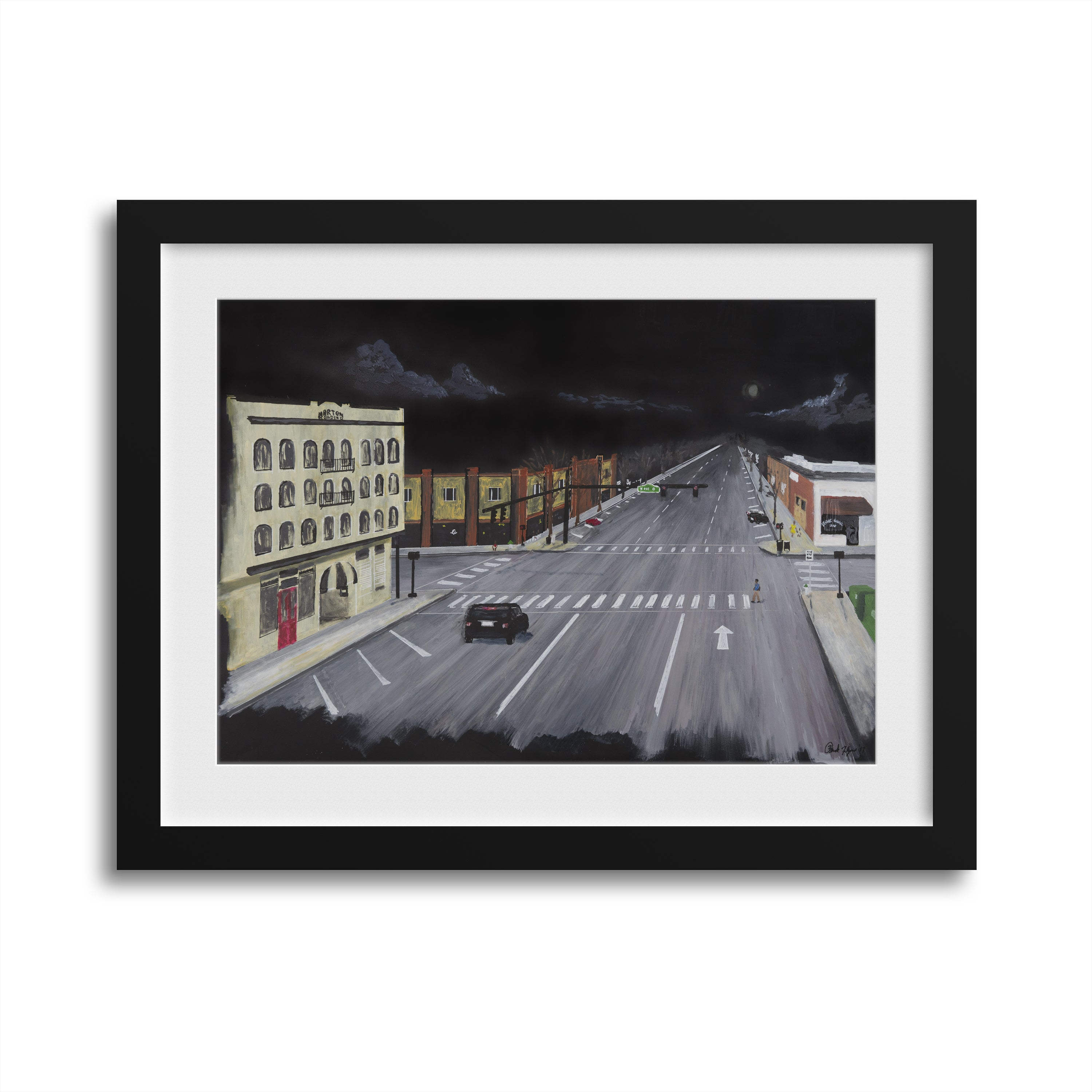 Downtown Athens Limited Edition Prints by Broderick Flanigan - by Broderick Flanigan - K. A. Artist Shop
