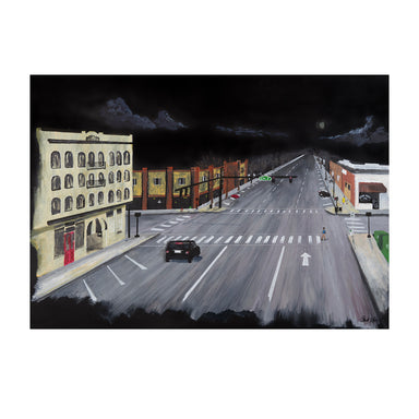 Downtown Athens Limited Edition Prints by Broderick Flanigan - 11 x 14 inches by Broderick Flanigan - K. A. Artist Shop