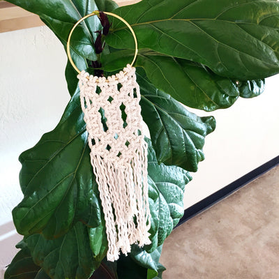 Modern Macramé: Make a Mini Wall Hanging