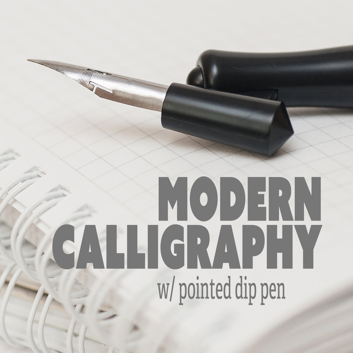 Modern Calligraphy with Pointed Dip Pen Class (online)