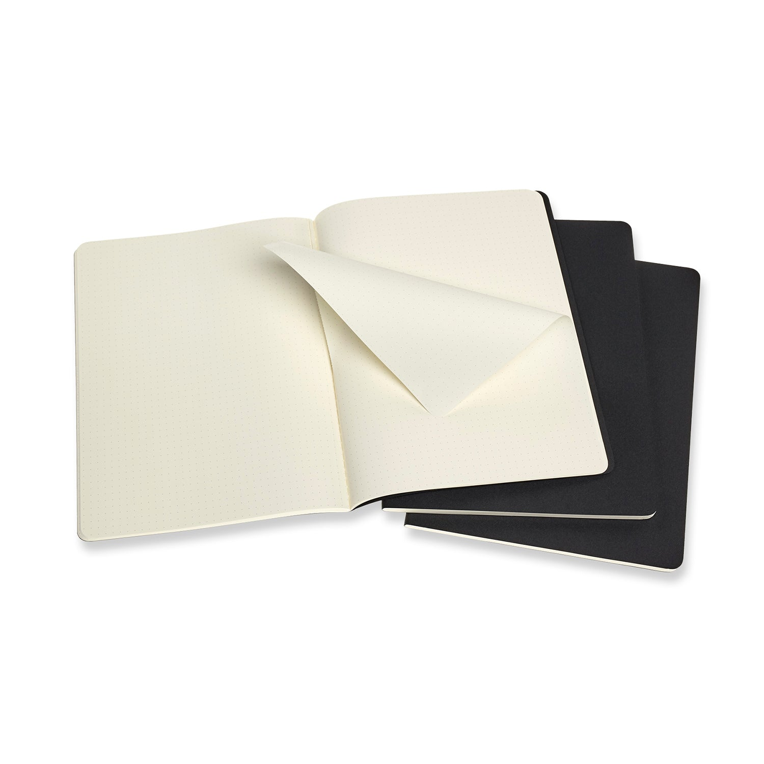 Moleskine Cahier Journals - 7.5 x 9.75 inches - Set of 3 Notebooks - by Moleskine - K. A. Artist Shop