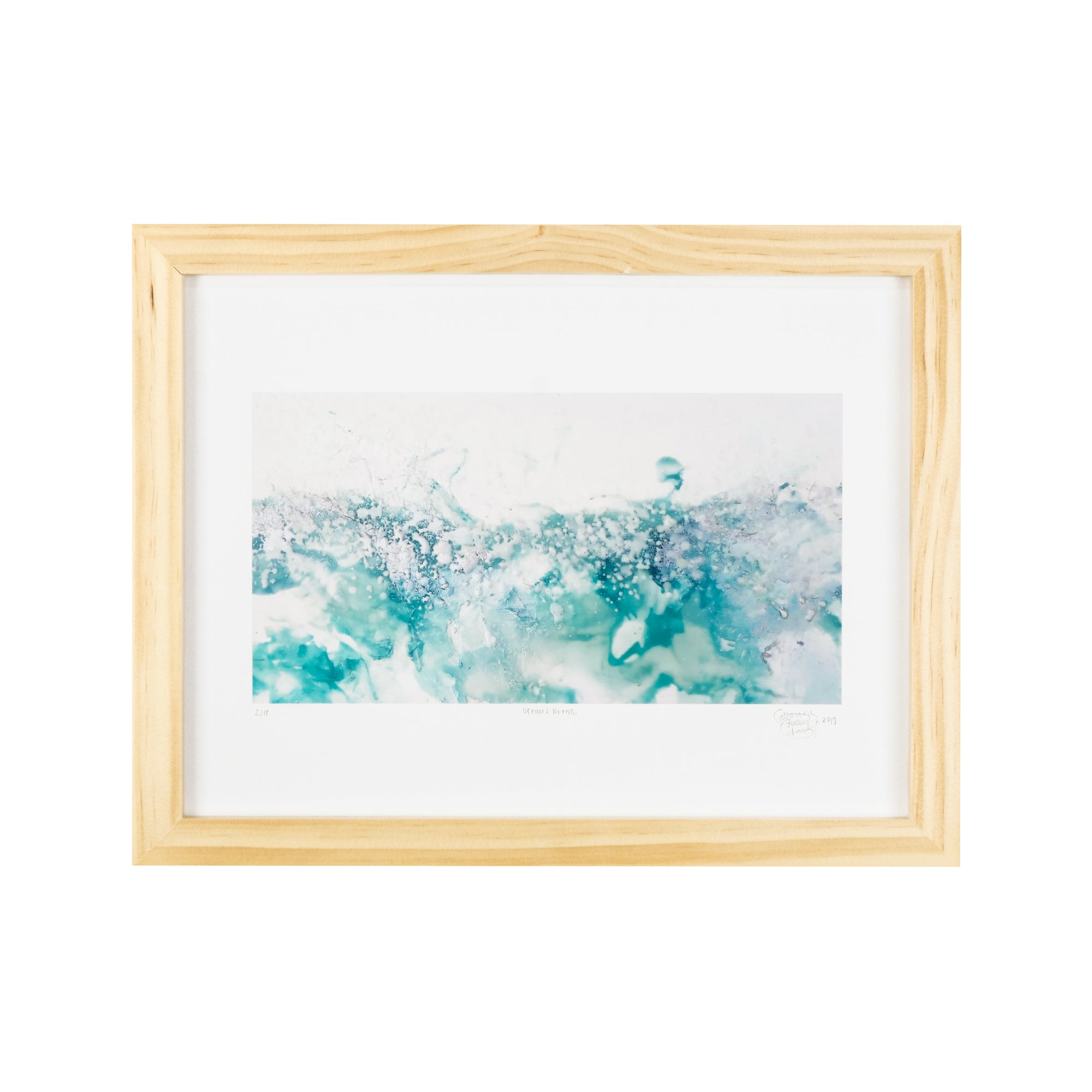 """Ocean's Breath"" - 9 x 12 inches - Limited Edition Prints by Catherine Lucky Chang"