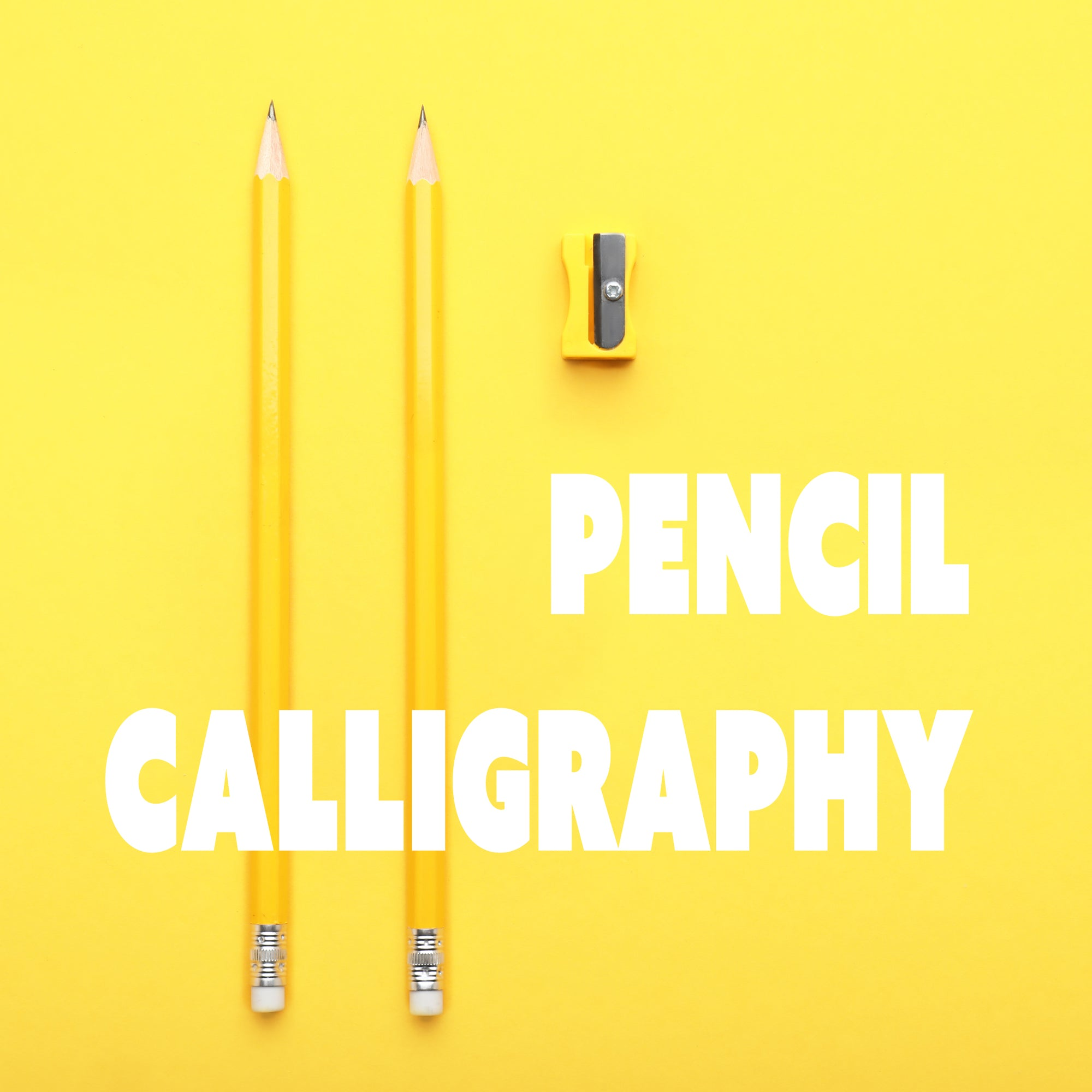 Pencil Calligraphy Class (online)