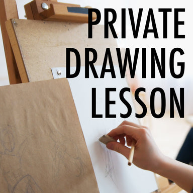 Private Drawing Lesson (online) - by K. A. Artist Shop Classroom - K. A. Artist Shop