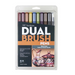Tombow Dual Brush Pen and Artist Markers - Set of 10 - Muted Palette by Tombow - K. A. Artist Shop