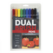 Tombow Dual Brush Pen and Artist Markers - Set of 10 - Primary Palette by Tombow - K. A. Artist Shop