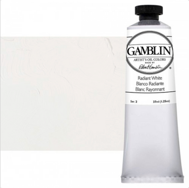 Gamblin Artist's Oil Colors - Radiant Colors - 37 ml - Radiant White by Gamblin - K. A. Artist Shop