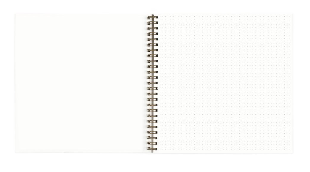 Open-Dated Planner by Worthwhile Paper - Triangles - by Worthwhile Paper - K. A. Artist Shop