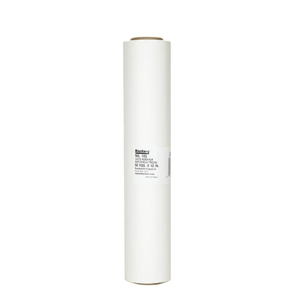 Bienfang (106) White Sketching and Tracing Paper Roll - Small / Medium