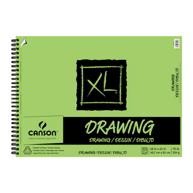 Canson XL Drawing Pad - 18 x 24 inches - by Canson - K. A. Artist Shop