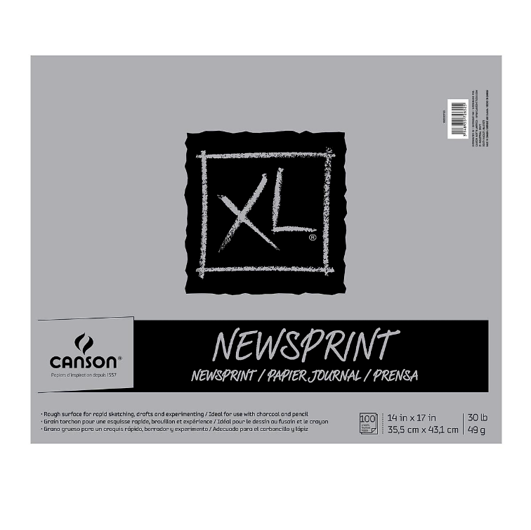 Canson XL Newsprint Pad