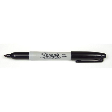 Sharpie Permanent Marker - Fine Tip - Black by Sharpie - K. A. Artist Shop