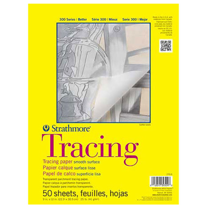 Strathmore Tracing Paper Pad - 50 Sheets/Pad - by Strathmore - K. A. Artist Shop