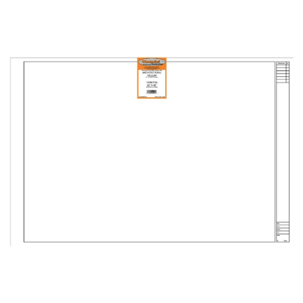 Clearprint Vellum Sheets - 1000H / 16 lb. - 24 x 36 inches